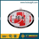 high quality wholesale custom metal transparent color medallions
