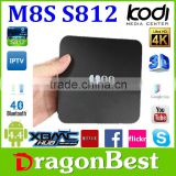 Hot selling M8s internet tv set top box Android 5.1 M8S Quad Core Android TV Box 2gb/8gb 4K