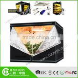 Indoor outdoor 210D/600D mylar grow tent / commercial hydroponics greenhouse / complete grow tent kits