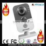 Hikvision wireless WiFi Network camera 3MP POE IR Cube pir sensor IP Camera (DS-2CD2432F-IW)