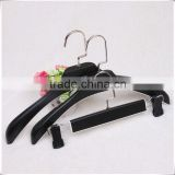 Luxury Wide Shoulder Plastic Suit Hanger for Man, Clothes/Trousers hanger With Square Hook
