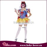 New arrival stylish girls princess costumes for party short sexy costumes high quality sweet girls costumes wholesale