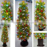 Christmas tree of bead handmade crafts