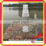 3oz perfume glass bottle airless pump bottle with spray cap for lotion with logo printing