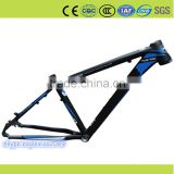 blue color full aluminum alloy frame front wheel fixed gear bicycle professional Manufacturer