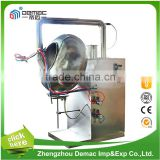 Stainless steel food automatic peanut chocolate nut candy tablet pill film sugar coating machine