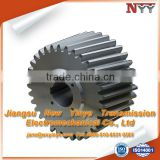 wet pan mills helical gear