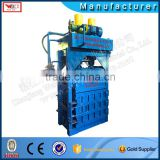 not used clothing baling machine with CE fiber baling machine