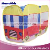 2015 The mostpopular house shape cute lovely mini baby play tent, baby beach tent,accept OEM