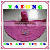 long baby rainwear/New Design emergency rain ponchos with logo/infant poncho