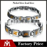 Aquarius Elegant Stainless steel Magnetic Therapy Pain Relief Bracelet for Arthritis and Carpal Tunnel
