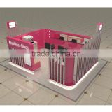 factory price Three seats eyelash kiosk&eyebrow kiosk&eyebrow threading kiosk for sale