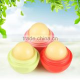 Bonvatt New Arrival Organic Lip Balm cute lip balm ball shape