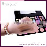 78 colors private label eyeshadow palette,waterproof baked eyeshadow OEM magnetic eyeshadow palette