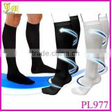 Fashion Unisex Miracle Socks Antifatigue Compression Stockings Soothe Tired Achy Legs & Feet