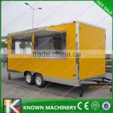 Inquiry About China mobile food cart with wheels/convenient for food/snack business