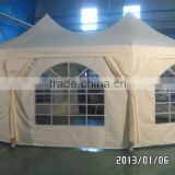 steel frame PVC PE covers teel frame dome tent