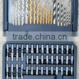 78PCS Drills & Bits Set(POUCH/HIGH SPEED DRILL BITS/MAGNETIC HOLDER)