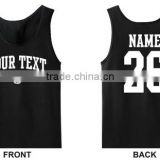 Lady Custom Jersey Blouses Sleeveless Volleyball Jersey HST2347