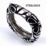 8mm Casting 316L Stainless Steel Ring / Men's Rings Jewelry