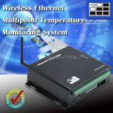 Wireless Ethernet Multipoint Temperature Monitoring System