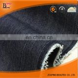 Polyester/ spandex/cotton denim jeans fabric and soften black denim jeans fabric for any jeans,pants and jacket