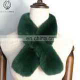 Small Size Scarf Of Whole Skin Cute Muffler Of Fur High Standard Ladies Rabbit Fur Scarf