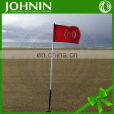 Best Selling Free Design Color Printing Polyester Mini Golf Flags