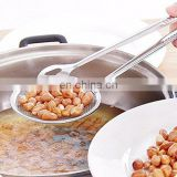 stainless steel wire oil skimmer/kitchen frying tools/frying colander Strainer
