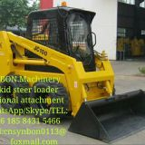 Skid steer loader, four-wheel drive, various auxiliary tools, Front shovel typeeasy to operate