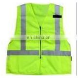 customized color mesh safety wear with pvc tape