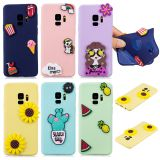 Summer Cute Lovely Printed Soft TPU Shockproof Back Case Cover Skin For Phone