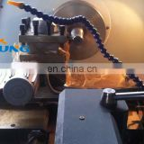 ck6432 high quality flat bed cheap small turning cnc lathe for metal with ce