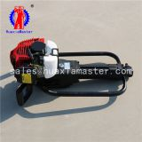 Earth exploration rig equipment portable gasoline engine fast speed 10m soil sampling drilling rig machine
