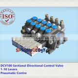 Z1208 harvester for control valve,high quality and 1-8 spools pneumatic control valve,pneumatic control valve used in machines