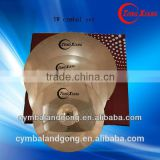 TW cymbals for drums 14hihat16crash18ride B10 cymbal