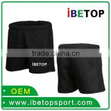 Black club team baseball short competitive wholesales price