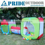 Two Cubby One Tunnel 3 in 1 Children's Playground Cheap Large Kids Play Tents House Folding Children Play Tent