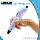 Interesting 3D drawing pen for Children as gift 3d Printer with ABS or PLA materials to drawing