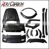 Carbon Fiber car tuning body kits for panamera body kit