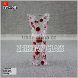 Various flower vases for headstones from China glass vase manufacturers