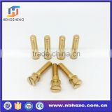 Customized design fitting part brass screws                                                                         Quality Choice