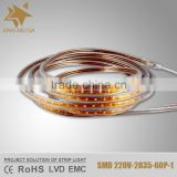 Super wide 8mm FPC board 2835/3528 led strip light 60/240 leds per meter led strip                                                                         Quality Choice