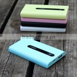 N002 Super slim 4000mah Li-polymer battery mobile power bank with high qaulity gifts external battery charger