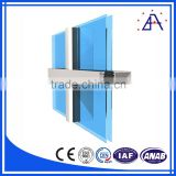 Building Facade Curtain Wall Aluminum Panel Wall Material Hall Partition