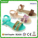 Fashion plastic piece summer Girl/lady slippers sandals