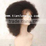 afro curl full lace wigs