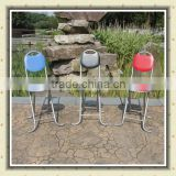 PU leather with metal tube clubfoot folding leisure garden chair BS-107