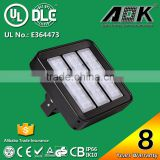 TUV GS UL DLC CE RoHS 8 Years Warranty IP67 80W 120W LED Flood Light Solar Lights Outdoor