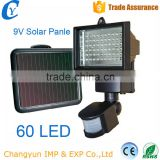 Garden Spotlights Light solar motion sensor security light 30W 60LED Solar led Flood Lighting                                                                                                         Supplier's Choice
